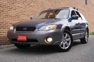 Used 2006 Subaru Outback 2.5i Limited, AWD, Leather, Sunroof, Alloy, Heated for sale in North York, ON