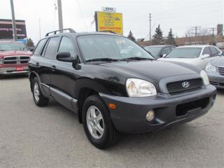 Used 2004 Hyundai Santa Fe GL, AWD, Leather, Sunroof, Alloys, Heated Seat for sale in North York, ON
