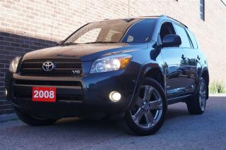Used 2008 Toyota RAV4 Sport V6, Sunroof,Alloy for sale in North York, ON