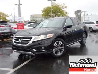 Used 2013 Honda Accord Crosstour EX-L NAVI! Honda Certified Extended Warranty to 12 for sale in Richmond, BC
