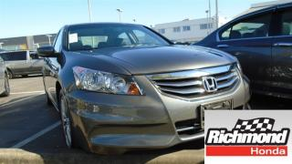 Used 2012 Honda Accord EX-L! Honda Certified Extended Warranty to 120, 00 for sale in Richmond, BC