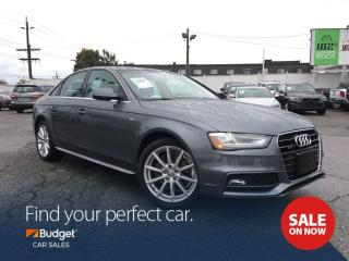 Used 2015 Audi A4 Intuitive All Wheel Drive, Very Low Kms, Bluetooth for sale in Vancouver, BC