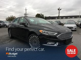 Used 2017 Ford Fusion Titanium Edition, All Wheel Drive, Navigation for sale in Vancouver, BC