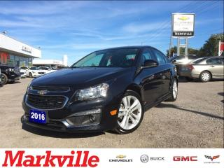 Used 2016 Chevrolet Cruze LTZ-ONW OWNER-LEATHER-MINT CONDITION-LIKE NEW! for sale in Markham, ON