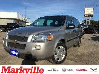 Used 2009 Chevrolet Uplander LS-CERTIFIED-ONE OWNER for sale in Markham, ON