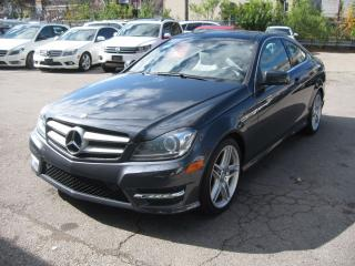Used 2013 Mercedes-Benz C350 C 350! COUPE! 4 MATIC for sale in Scarborough, ON