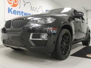 Used 2014 BMW X6 xDrive35i- NAV, sunroof, heated leather interior even a power liftgate for sale in Edmonton, AB