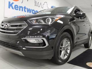 Used 2017 Hyundai Santa Fe Sport 2.4 Luxury AWD- heated leather seats all around, power drivers seat for sale in Edmonton, AB