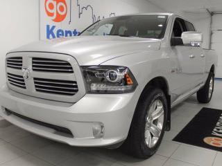 Used 2017 Dodge Ram 1500 Sport 4x4 Hemi with power heated seats, back up cam and a dream to be made real for sale in Edmonton, AB