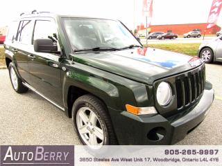Used 2010 Jeep Patriot NORTH - 5 SPEED - 2.4L for sale in Woodbridge, ON