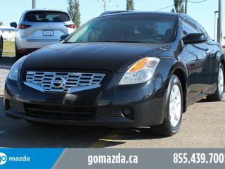 Used 2009 Nissan Altima 2.5 S COUPE SUNROOF POWER OPTIONS ACCIDENT FREE LOCAL for sale in Edmonton, AB