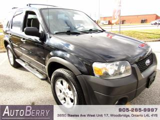 Used 2007 Ford Escape XLT - 4WD for sale in Woodbridge, ON