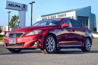 Used 2013 Lexus IS 250 AWD 6A for sale in Thornhill, ON