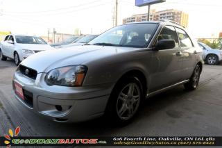 Used 2005 Subaru Impreza RS | NO ACCIDENT | LOW KM | POWER LOCKS/WINDOWS for sale in Oakville, ON