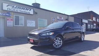 Used 2013 Ford Fusion SE-LOADED-SYNC-TINTED WINDOWS for sale in Tilbury, ON