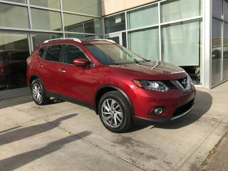 Used 2014 Nissan Rogue SL/AWD/NAVIGATION/HEATED SEATS/BLIND SPOT for sale in Edmonton, AB