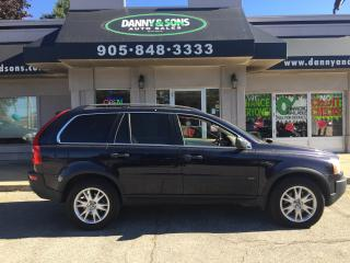 Used 2006 Volvo XC90 2.5L Turbo 7 seat  SNOW TIRES INCLUDED BLACK FRIDA for sale in Mississauga, ON