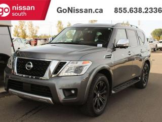 Used 2018 Nissan Armada PLATINUM 4DR AWD BACK UP CAMERA NAVIGATION BLUETOOTH for sale in Edmonton, AB