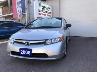 Used 2006 Honda Civic DX-G for sale in Bloomingdale, ON