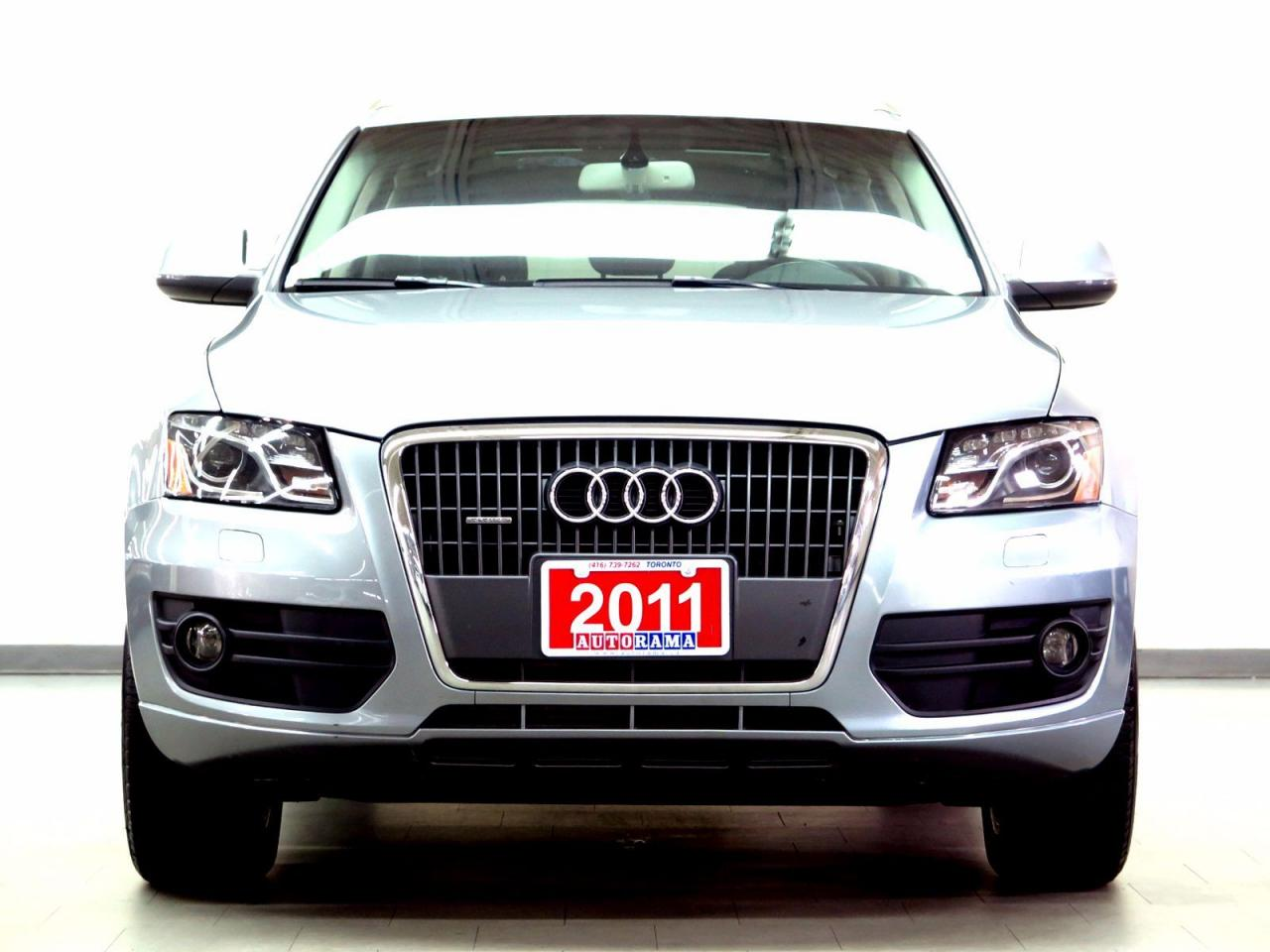 used 2011 audi q5 leather sunroof 4wd for sale in north york ontario. Black Bedroom Furniture Sets. Home Design Ideas