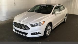 Used 2014 Ford Fusion SE ONE OWNER NO ACC CERTIFIED AUTOMATIC for sale in York, ON