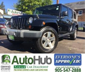 Used 2008 Jeep Wrangler SAHARA-SOFT TOP-HARD TOP for sale in Hamilton, ON
