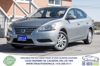 Used 2014 Nissan Sentra SV | NO ACCIDENT | ONE OWNER | Navigation/Sunroof for sale in Caledon, ON