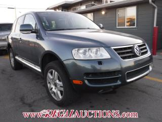 Used 2006 Volkswagen TOUAREG  4D UTILITY V8 for sale in Calgary, AB