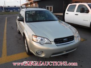 Used 2006 Subaru OUTBACK BASE 4D WAGON for sale in Calgary, AB