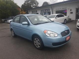 Used 2010 Hyundai Accent GL 4-Door for sale in Waterdown, ON