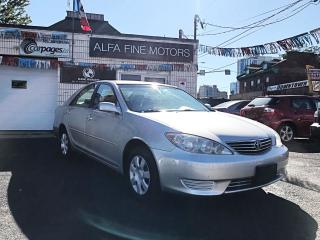 Used 2005 Toyota Camry LE 4CYL/AUTO (CERTIFIED) for sale in Hamilton, ON