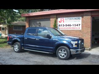 Used 2016 Ford F-150 XTR Supercrew 3.5L V6 RWD - Low Kms! for sale in Elginburg, ON