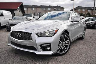 Used 2014 Infiniti Q50 SPORT,AWD,NAVI for sale in Aurora, ON