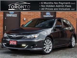 Used 2010 Subaru Impreza 2.5 i Limited Package+Leather+Sunroof+Heated seats for sale in North York, ON