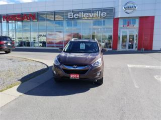 Used 2014 Hyundai Tucson GLS 1 OWNER LOCAL TRADE for sale in Belleville, ON