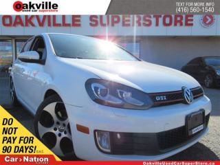 Used 2010 Volkswagen Golf GTI 5-Door | LEATHER | SUNROOF | 6 SPEED M/T for sale in Oakville, ON