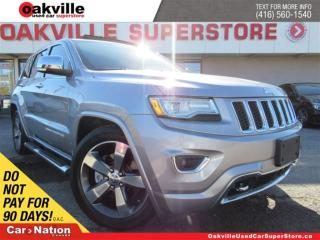 Used 2015 Jeep Grand Cherokee OVERLAND | DIESEL | DVD | NAVI | SUNROOF | for sale in Oakville, ON