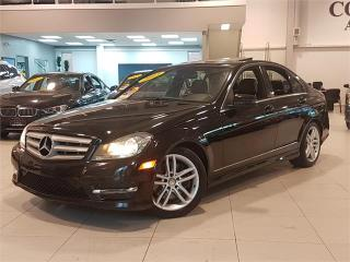 Used 2013 Mercedes-Benz C-Class C 300 4MATIC-NAVIGTION-LOADED for sale in York, ON