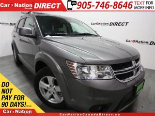 Used 2012 Dodge Journey SXT| LOW KM'S| 7-PASSENGER| PUSH START| for sale in Burlington, ON