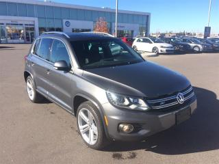 Used 2016 Volkswagen Tiguan Highline for sale in Calgary, AB