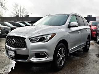 Used 2017 Infiniti QX60 NAVIGATION, LEATHER, SUNROOF for sale in Concord, ON