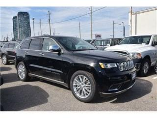 Used 2018 Jeep Grand Cherokee Summit NAVI/LEATHER/DUAL PANE SUNROOF/ONLY 17,000 for sale in Concord, ON