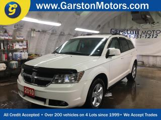 Used 2010 Dodge Journey SXT*KEYLESS ENTRY*INFINITY AUDIO*HEATED FRONT SEATS*DUAL ZONE CLIMATE CONTROL*ALLOYS*TRACTION CONTROL*REMOTE START*AM/FM/XM/CD/AUX*U CONNECT PHONE*POWER WINDOWS/LOCKS/HEATED MIRRORS*AUTO DIMMING MIRROR*FOG LIGHTS*ROOF RACK* for sale in Cambridge, ON