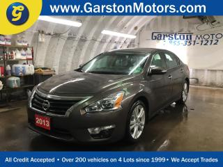 Used 2013 Nissan Altima SL 3.5L*CVT*POWER SUNROOF*LEATHER*BACK UP CAMERABOSE AUDIO*DUAL ZONE CLIMATE CONTROL*HEATED FRONT SEATS*ALLOYS*KEYLESS ENTRY w/REMOTE START for sale in Cambridge, ON