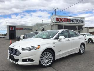 Used 2015 Ford Fusion SE - NAVI - LEATHER - SUNROOF for sale in Oakville, ON