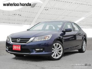 Used 2014 Honda Accord Touring V6 Sold Pending Customer Pick Up...Back Up Camera, Navigation, and More!!! for sale in Waterloo, ON