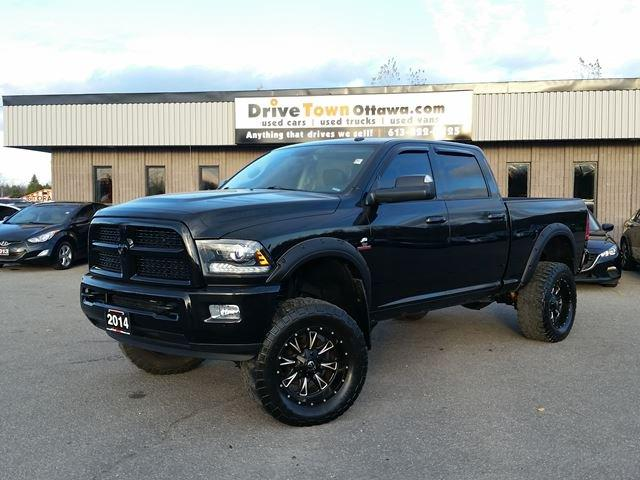 used 2014 dodge ram 2500 laramie crew 4x4 cummins diesel lifted for sale in gloucester. Black Bedroom Furniture Sets. Home Design Ideas
