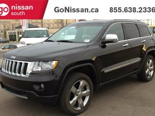 Used 2012 Jeep Grand Cherokee Overland - NAVIGATION, ADAPTIVE CRUISE CONTROL, PANORAMIC ROOF! for sale in Edmonton, AB