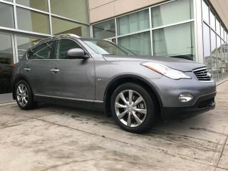 Used 2014 Infiniti QX50 AWD/HEATED SEATS/SUN ROOF/BACK UP MONITOR for sale in Edmonton, AB