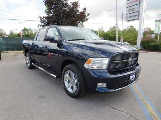 Used 2012 Dodge Ram 1500 Sport - 5.7L HEMI, 4x4, Crew Cab for sale in London, ON